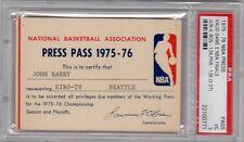 1975-76 NBA Finals GM 5 triple OT Boston Celtics Win PSA Ticket/Pass