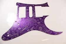 Purple Paisley Anodized Aluminum pickguard fits Ibanez (tm) RG550 Jem RG  HSH
