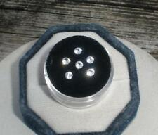6 White Sapphire Round Loose Faceted Natural Gems 3mm each