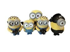 Minions Toys Mcdonalds Speaking Despicable Me x5