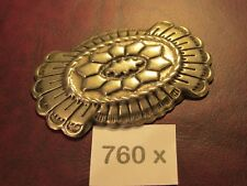 TRINITY CONCHOS LARGE 760 X Nic. SILVER VINTAGE High Quality USA Leather Crafts