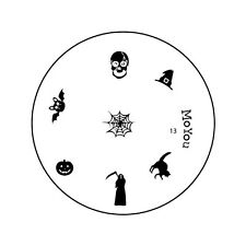 MoYou Halloween Image Plate13 Nail Art Stamping Template Stencil Manicure design