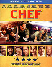 Chef (Blu-ray Disc, 2014, 2-Disc Set, Includes Digital Copy UltraViolet)