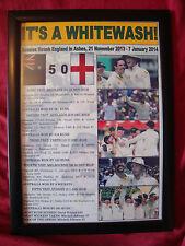 More details for australia 2013/14 ashes winners - framed print