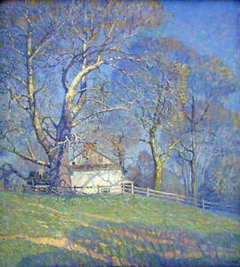 Newell Convers Wyeth Buttonwood Farm Poster Reproduction Giclee Canvas Print