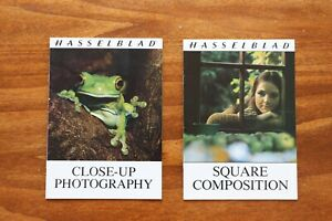Pair of HASSELBLAD booklets: Close up Photography & Square Composition