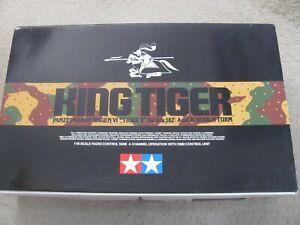 New 1/16 Tamiya R/C German Heavy Tank VI King Tiger Full Option Kit Serien Turm