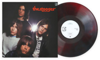 The Stooges (John Cale Mix) Exclusive Club Edition Red & Black Marble Vinyl LP