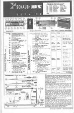 ITT/Schaub-Lorenz/Graetz Service Manual für Touring 70 universal