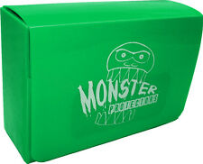 (1) BCW-MB-DD-MGR Green Double Deck Trading Card Game Box Monster Protectors MTG