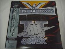 STICKER TT QUICK-Metal Of Honor JAPAN 1st.Press w/OBI Anthrax Metallica AC/DC