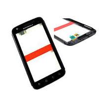 Motorola Mb860 Atrix 4g Frontal Pantalla Táctil Digitalizador Panel Marco Bisel Negro Reino Unido
