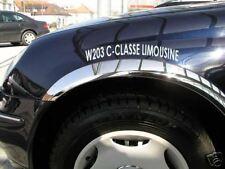 MERCEDES W203 C Classe Limousine  CHROME CONTOUR DES AILES