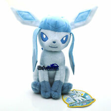 "7.5"" New Pokemon Glaceon Plush Soft Toy Doll^Pc2070"