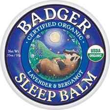 Badger SLEEP BALM Certified Organic Lavender & Bergamot Soothing Temple Rub 21g