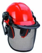 Einhell Forstschutzhelm BG-SH 1 Helm Schutzhelm mit Sichtschutz Sicherheitshelm