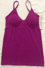 NWT Gilligan Omalley Sleepwear Slimy Fit  Top With Removable Pads Sz  S