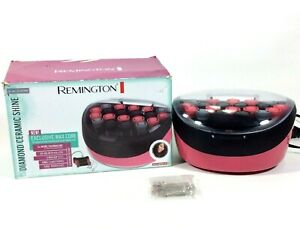 Remington Hot Rollers Curlers Exclusive Wax Core Diamond Ceramic Shine H-600