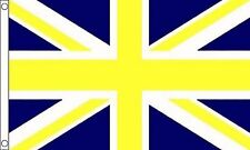 Yellow and Blue Union Jack Flag 8'x5'