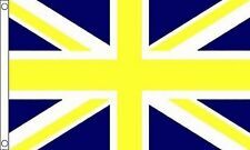 Giallo E Blu Bandiera Union Jack 8' X5'