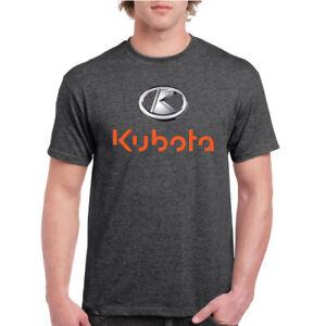 New Kubota Equipment T-shirt Black (Avail. In B&W Tee)