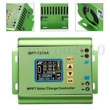 MPPT Écran LCD Régulateur Solaire 24/36/48/60/72V 10A Charge Contrôleur DC Boost