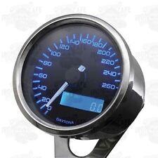 Tachimetro digitale velona cromato, scala 260 km/h