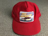 Vintage Neil Bonnett Hat NASCAR Racing Budweiser Patch Snapback shirt jacket