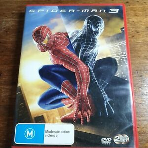 Spider-Man 3 DVD R4 Like New! FREE POST
