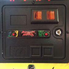 Attack from Mars pinball Coin door custom decal