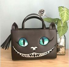 Alice in Wonderland x The Cheshire Cat Face Lolita Handbag Shoulder Bag 2 Way