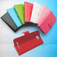 Para mywigo smartphone-Flip Folder Case Cover Funda Carcasa Piel Cuero 4G lte