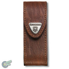 VICTORINOX Sheath Swiss Army Knife Pouch Case 1.3743 35670 Mountaineer brown