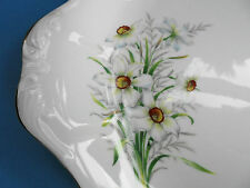 ROYAL ALBERT NARCISSUS CAKE SERVING PLATE FRIENDSHIP SERIES