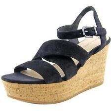 Sandalias y chanclas de mujer de color principal negro de ante talla 38