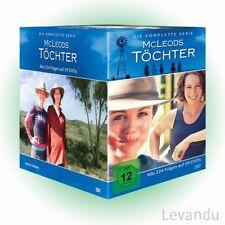 DVD-Box MCLEODS TÖCHTER - DIE KOMPLETTE SERIE (Staffel 1-8) - 59 DVD's NEU