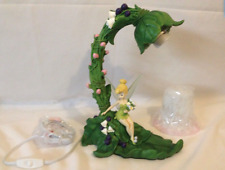 Disney Lamp Tinkerbell Garden Desk Light  - Resin Tinker Bell