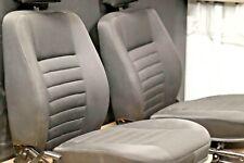 OEM Land Rover Defender 90 Re-upholstered Front driver and Passenger Seat set