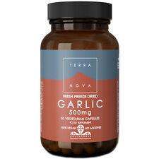 Terranova Phytofresh Fresh Freeze Dried Garlic 500mg - 50 Capsules