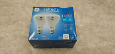 Refresh LED Light Bulbs, Daylight, Dimmable, 1,700 Lumens, 10-Watt, 2-Pk.