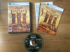 AGE OF EMPIRES III 3 THE WAR CHIEFS EXPANSION PACK pc Freepost