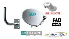 Kit Parabola Fracarro hd antenna parabolica kit parabola 2 uscite staffa muro