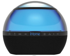 iHome iBT175V2 Portable Bluetooth Rechargeable Speaker With Voice Assistance NEW