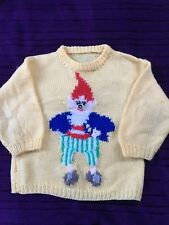 Childs Yellow Big Ears Jumper Long Sleeve Yellow - Age 2 - 4 years