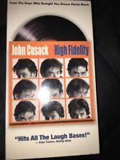 High Fidelity starring John Cusack (Vhs, 2000)