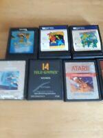Atari 2600 Games - Lot Of 7  Untested
