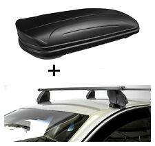Dachbox VDPMAA320L matt+Dachträger K1M für Hyundai Kona 5Türer ab 17