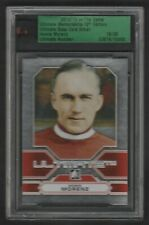 2012-13 In The Game Ultimate Memorabilia Howie Morenz 16/30 Silver