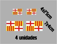 (1111)4 x bandera Tabarnia BARCELONA catalonia catalana vinilo adhesivo pegatina