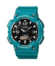 Casio Original New AQ-S810WC-3A Digital Analog Watch Solar Turquoise AQ-S810